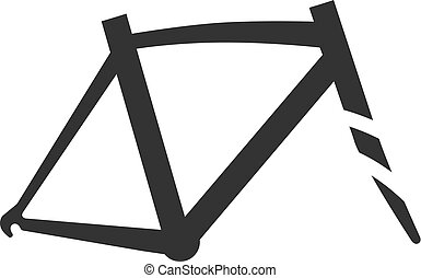 BW Icons - Bicycle frame