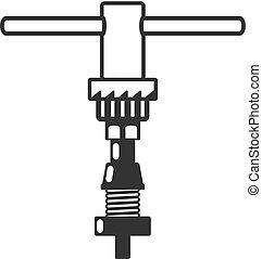 BW Icons - Bicycle repair tool