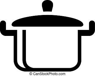 BW Icons - Cooking pan