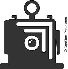 BW Icons - Large format camera