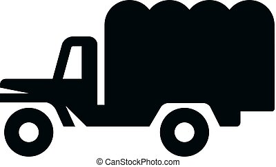 BW Icons - Military truck
