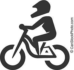 BW Icons - Mountain biker
