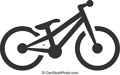 BW Icons - Trial bicycle