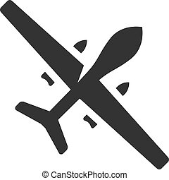 BW Icons - Unmanned aerial vehicle