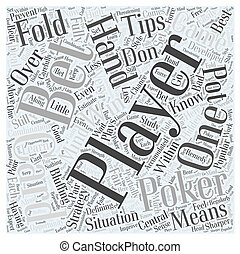 BWG poker tips Word Cloud Concept