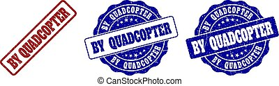 BY QUADCOPTER Scratched Stamp Seals