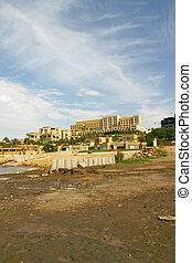 By Shore of the Dead Sea Jordan