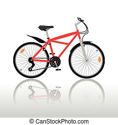 Bycicle - Isolated bycicle illustration