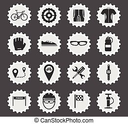 Bycicle simply icons - Bycicle simply symbol for web icons...