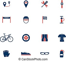 Bycicle simply symbol for web icons and user interface