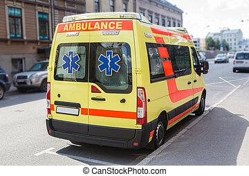 byen, ambulance