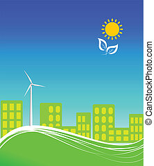 byen, energi, rense, bruge