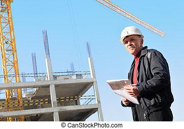 byggmästare, konstruktion sajt
