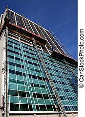 byggnad, renovering