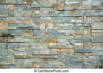 byggnad, tegelsten vägg, struktur, concepts., dekoration, design, yttre, eller, bakgrund, konstruktion
