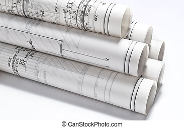 byggnads teckningar, projektera