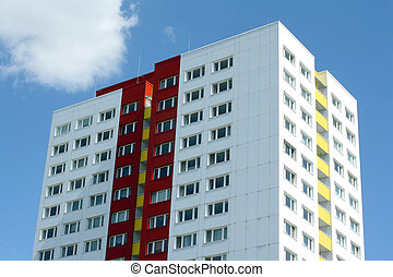 bygning, beboelses