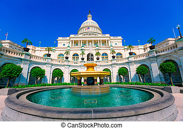 bygning capitolium, washington washington. dc., united...
