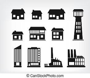 bygning, iconerne