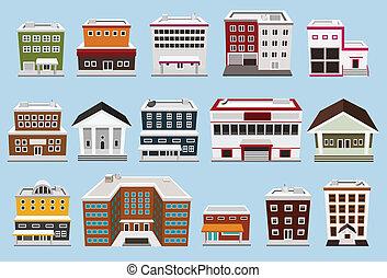 bygning, samling