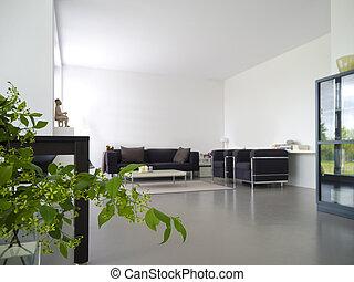 bylina, domovní, livingroom
