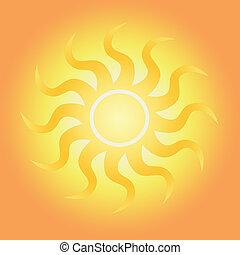 bystrý, sluneční světlo