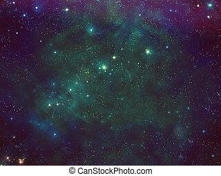 bystrý, vesmír