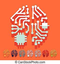 byt, design:, strojová inteligence
