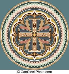 Byzantine cross - Byzantine style cross