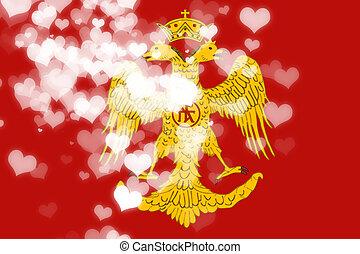 Byzatine eagle flag
