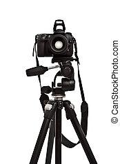 cámara fotográfica de la foto, trípode