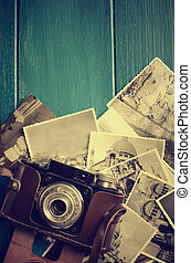 cámara fotográfica de la vendimia, foto