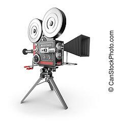 cámara fotográfica de la vendimia, película