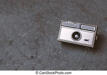 cámara, retro, película, clásico