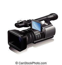 cámara, vídeo