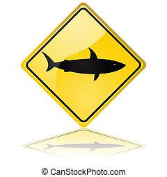 cápa, felszólít cégtábla