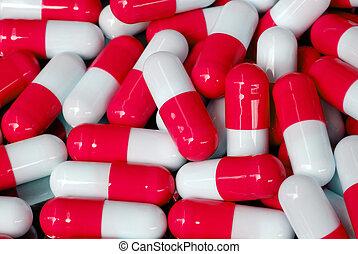 cápsula, antibiótico
