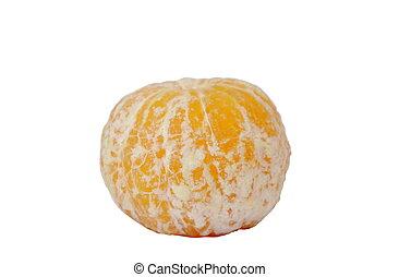 cáscara, gota, agua, plano de fondo, naranja, blanco hacia fuera