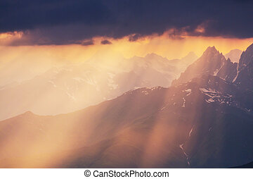 cáucaso, montañas