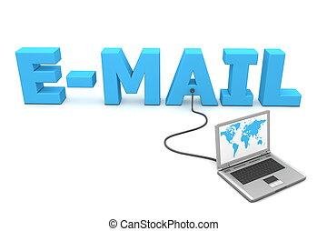 câble, à, e-mail