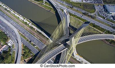 câble-resté pont, mondiale