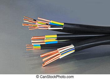 câbles, cuivre