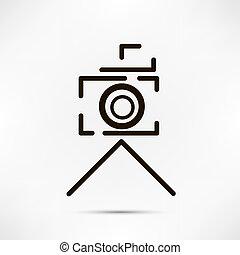 câmera, desenho