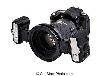 câmera, dslr