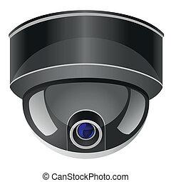 câmera, surveillance video