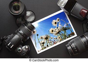 câmera, vida