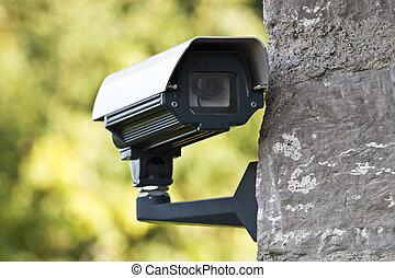 câmera, vigilância