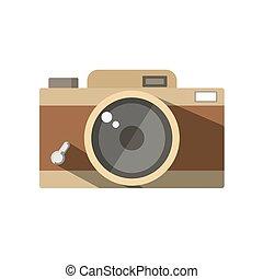 câmera vintage, foto