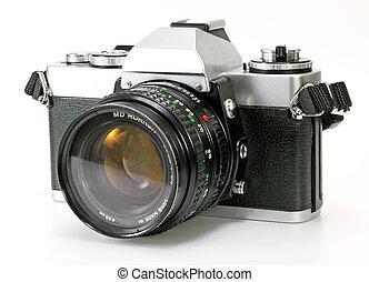 câmera vintage, retro