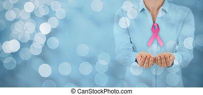 câncer, consciência peito